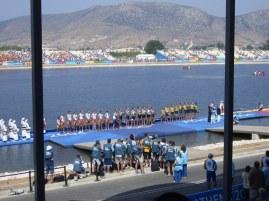 Medal dock Athens
